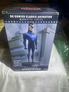 BTAS Nightwing statue Maquette NEW No COA ArtFX DC Collectibles Batman Animated
