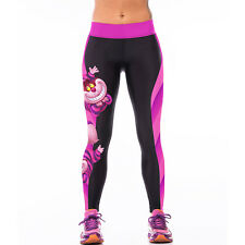 Women Galaxy Yoga Gym Fitness Leggings Running Sport Stretch Pants Slim Trousers