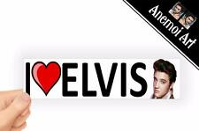v45 I Love Heart Elvis Presley Picture sticker Bumper Window Laptop THE KING