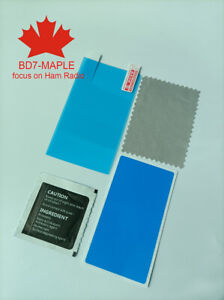 2 set X Screen protector film for Icom 705 IC-705 SDR QRP HF Transceiver