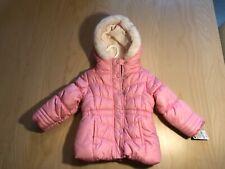 OSHKOSH BGOSH Girls Pink Puffer Jacket ~ Size 18 Months ~...
