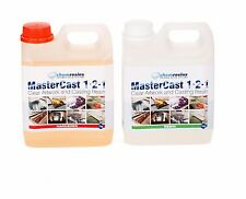 MasterCast clear epoxy casting resin 70 oz (2 kg) kit artwork resin crafting