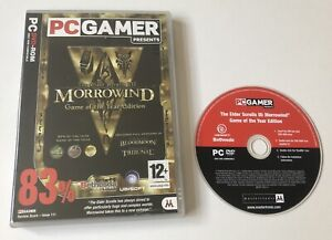 The Elder Scrolls III 3 Morrowind Game of the Year Edition PC DVD-ROM Boxed PAL