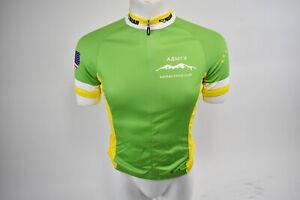 Medium Men's Verge V-Gear Kavkaz Cycle Club Short Sleeve Cycling Jersey Green