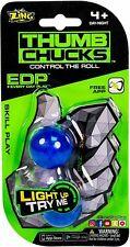 Zing Thumb Chucks Light-Up Skill Toy: Blue