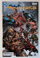 Batman Teenage Mutant Ninja Turtles II #2 DC 2018 NM- Comic Book 1st Print