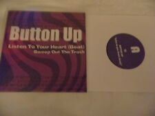 """button up listen to your heart beat  sweep out 7""""  mod power pop  soul mod- ish"""