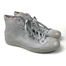 Converse, Men's, CTAS Hi Pure Silver/Mouse Size 9 Men