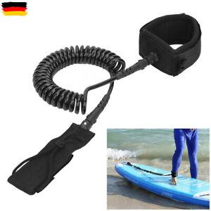 Surf Leash, Surfleine, SUP Leash Curled, 300 cm 10FT, Ankle Leash für Surfboard