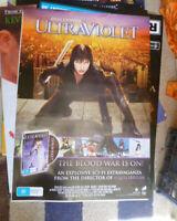 ULTRAVIOLET 1 SHEET AUST DVD VERSION MOVIE POSTER