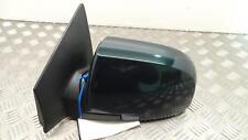 Kia Carens 2003 - 2006 Left Passenger Green Electric Door Door Mirror & Glass