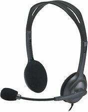 LOGITECH H111 3.5mm MULTI-DEVICE STEREO HEADSET STEREO HEADSET NEW st