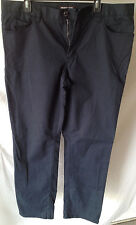 Michael Kors MK Mens Chinos Dark Blue Pants Sz 38/31 Authentic Modern Fit