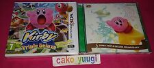 KIRBY TRIPLE DELUXE NINTENDO 3DS NEUF 100% FR + OST SOUNDTRACK  CLUB NINTENDO