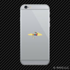 New Jersey Fly Fishing Cell Phone Sticker Mobile NJ fish lure tackle flies