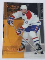Saku Koivu Rookie Montreal Canadiens 1995 -96 Select Certified Edition Card #117