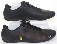 Puma Scuderia Ferrari Drift Cat 5 Ultra Sneakers Black-rosso Cor Shoes Mens 12