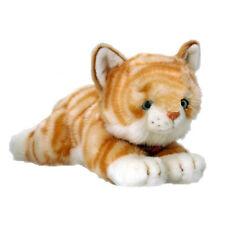 NEW PLUSH SOFT TOY KORIMCO Amber Tabby Orange Kitty Cat 32cm - Teddy