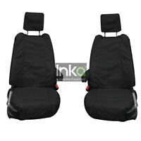 Range Rover Sport Front INKA Tailored Waterproof Seat Covers Black L494 MK 2