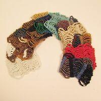 12PC Handmade Beaded Swag Multi Color Elastic Bracelets WHOLESALE LOT 12 Color