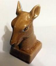 Orlando Cherry Brandy  Deer's Head Miniature Liquor Bottle (Empty)
