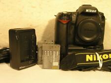 Nikon D90 12.3MP DSLR Camera w/MB-D80 Power Grip