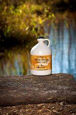 100% Pure Wisconsin Maple Syrup Grade B/New Grading Grade A Dark Robust Gallon