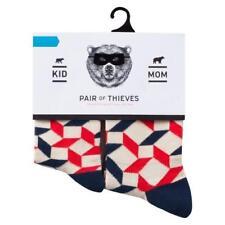 Pair of Thieves Mom Kid Twinsies Crew Socks - Medium 4-8 Yrs