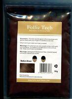 Vegan Hair Building Fibers Refill Medium Brown 50g Follic Tech HIGHEST QUALITY