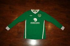 Umbro Eire Ireland Eircom Soccer / Futbol Jersey Long Sleeve youth Sz 152 Large