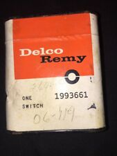 NOS GM Delco 64-68 Chevrolet Impala Chevelle Oldsmobile 442 Back-Up Light Switch