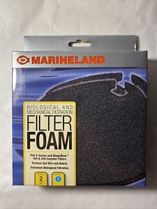 Marineland PA11481 C-160 & C-220 Canister Filter Foam, 2-Pack- free shipping