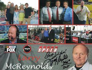 Larry McReynolds Nascar Fox Sports Signed Autographed 8.5x11 Photo TNT