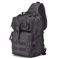 Military Tactical Assault Pack Sling Backpack Army Molle Waterproof Rucksack Bag