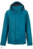 Burton Women's Jet Set Snowboard Jacket Size M (UK12) Pacific Blue 10081102410