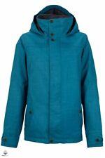 Burton Women's Jet Set Snowboard Jacket Size M (UK12) Pacific Blue 10081102410