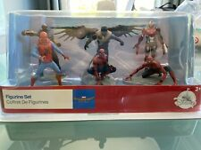 Marvel Spider-Man Homecoming Figurine Toy Set Disney Store New Cake Topper