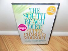 The South Beach Diet Supercharged Workout (DVD, 2008) Exercise Fitness NEW!!!