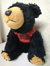 Black Bear Study Buddy Dorm Plushie By Wild Republic