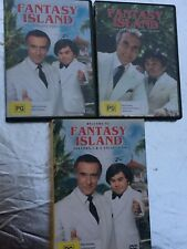 Fantasy Island Seasons 1&2 Collection 10xDisc Set Region 4 Various Subtitles GC