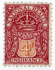 (I.B) George V Revenue : National Health & Insurance 4d