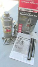 "PITTSBURGH 4 TON 8,000 LBS HEAVY DUTY HYDRAULIC BOTTLE JACK ""NEW IN BOX"""