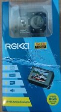 Reka Full HD Action Camera Full HD 1080P - Cycling Recording Function+8GB card