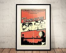 Stand by Me. Limited Edition Print. 80s Cult Movies TV (Prints/Poster)