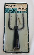 Vintage Dolphin 3 Prong Barbed Frog Fish Gig Spear Harpoon Fishing - Japan