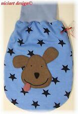 Niciart ♥ pucksack ♥ bebé saco de dormir ♥ Doggy estrellas ♥ kuschelsweaty & molto' ♥ perro