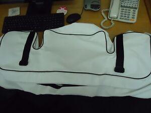 Caterham 7 Series 3 Boot Bag -  White Vinyl