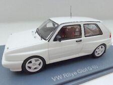 + VOLKSWAGEN VW Golf 2 Rallye G 60 von NEO  1:43 in weiss ++  nur 100 St.