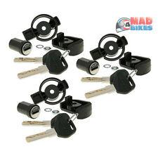 Givi SL103 Security Lock & Keys X 3 Replace  Upgrade Your Givi Top Box, Panniers