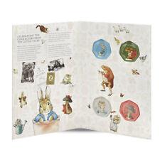 2017 Beatrix Potter 50p Collector Folder Album Coin Collection